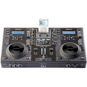 Cortex dMIX 600 - DJ Mixing Workstation for iPods and External Storage Devices