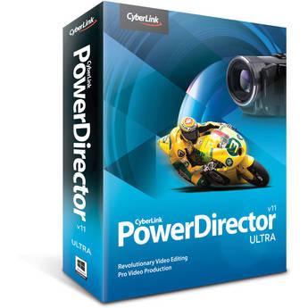 CyberLink PowerDirector 11 Ultra Editing Software