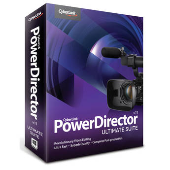 CyberLink PowerDirector 11 Ultimate Suite Editing Software