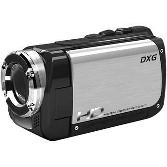 DXG DXG-5B1V Sportster High Definition Camcorder (Silver)