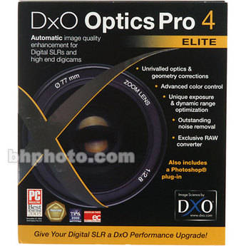 DXO Optics Pro 4 Elite (version 4.5)