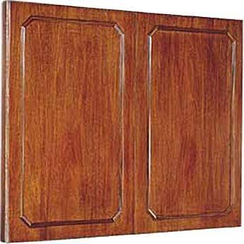 """Da-Lite Hamilton Conference Cabinet 60 x 48"""" (Mahogany)"""