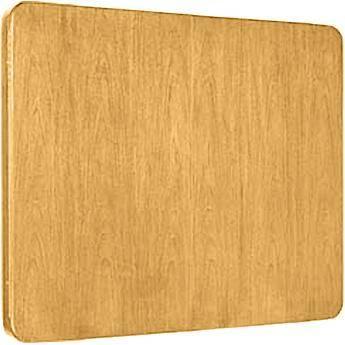"""Da-Lite Cambridge Conference Cabinet 48 x 48"""" (Medium Oak)"""