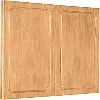 "Da-Lite Hamilton Conference Cabinet 60 x 48"" (Light Oak)"