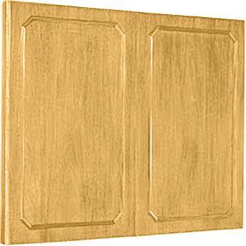 "Da-Lite Hamilton Conference Cabinet 60 x 48"" (Medium Oak)"