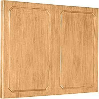 """Da-Lite Hamilton Conference Cabinet 72 x 48"""" (Light Oak)"""