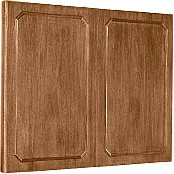 "Da-Lite Hamilton Conference Cabinet 48 x 48"" (Natural Walnut)"