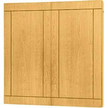 "Da-Lite Providence Conference Cabinet 48 x 48"" (Medium Oak)"