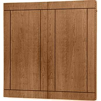 "Da-Lite Providence Conference Cabinet 48 x 48"" (Natural Walnut)"