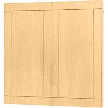 "Da-Lite Providence Conference Cabinet 48 x 48"" (Honey Maple)"