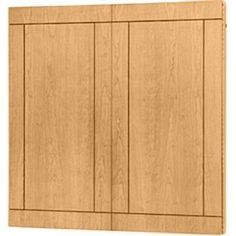 "Da-Lite Providence Conference Cabinet 72 x 48"" (Light Oak)"