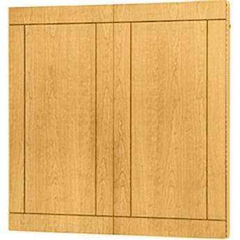 "Da-Lite Providence Conference Cabinet 72 x 48"" (Medium Oak)"