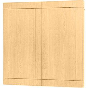 "Da-Lite Providence Conference Cabinet 72 x 48"" (Honey Maple)"