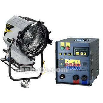 DeSisti Rembrandt 2.5/4K HMI Fresnel Basic Kit (95-265V)