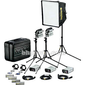 Dedolight 200W Sundance HMI 1 Light Hard Kit Case (90-260V)