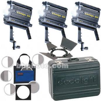 Dedolight Basic 3-Light Kit