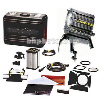 Dedolight DLH400D Standard HMI 1 Light Kit, Hard Case (90-260V)