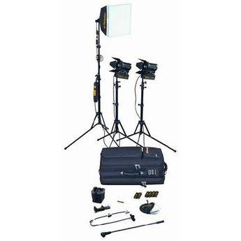 Dedolight Portable Studio 3-Light Tungsten Kit