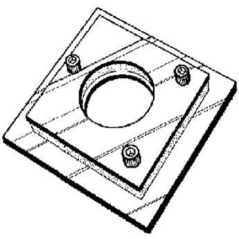 Delta 1 Bes-Align 4x4 Adjustable Lens Board