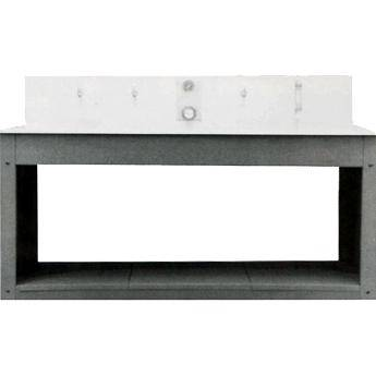 Delta 1 Stand & Shelf for Stainless Steel Sink