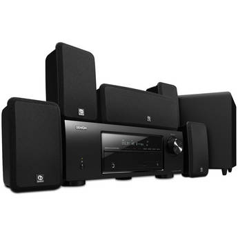 Denon DHT-1513BA 5.1 Channel Home Theater System