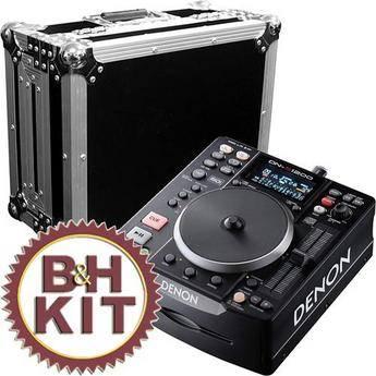 Denon DJ DN-S1200 - Compact Portable DJ CD/MP3 Player and Flight Case Kit