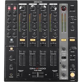 Denon DJ DN-X1100 Professional 4-Channel DJ Mixer