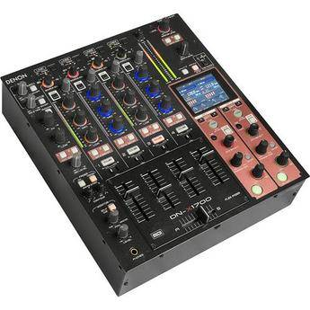 Denon DJ DN-X1700 4-Channel Digital DJ Mixer with Effects and MIDI Control