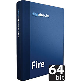 Digieffects Fire Plug-in for Delirium v2 Special Effects Plug-ins Package