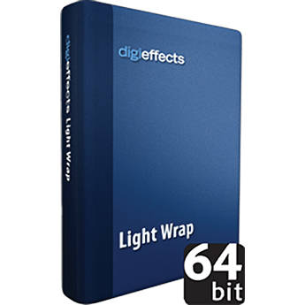 Digieffects Light Wrap Effect for Delirium v2 Special Effects Plug-ins Package