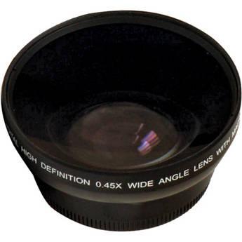 Digital Concepts 0.45x Wide-Angle Lens (62mm, Black)