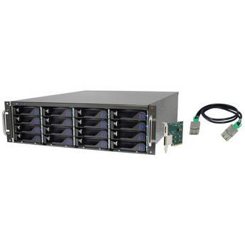 Dulce Systems 32 TB Pro RXex PCIe 2 x16 RAID Array