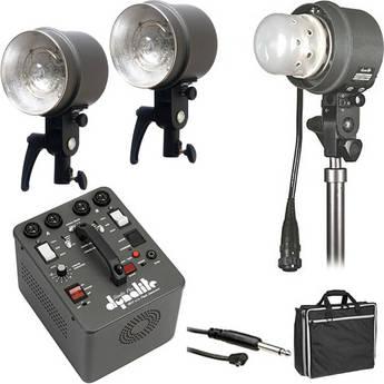 Dynalite SK16-12100V RoadMax/Studio 1,600W/s 3 Head Kit (120V)