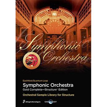 EastWest Quantum Leap Symphony Orchestra Gold Complete - Virtual Orchestral Instrument