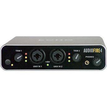 Echo AudioFire4 FireWire Audio Interface