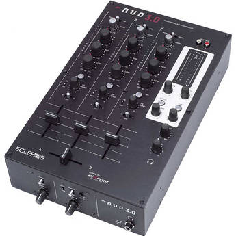 Ecler NUO 3.0 Professional 3-Channel DJ Mixer