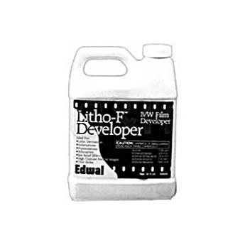 Edwal Litho F Developer (Liquid) for Black & White Film & Paper - 1 Quart