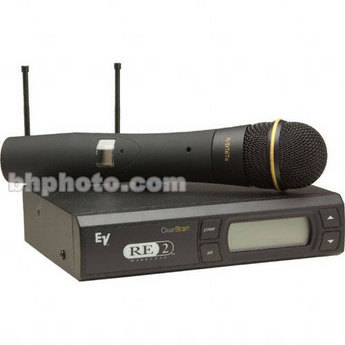Electro-Voice RE-2 UHF Wireless Handheld Microphone System