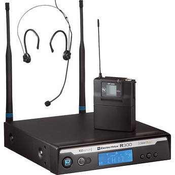 Electro-Voice R300-E Headworn Wireless Microphone System