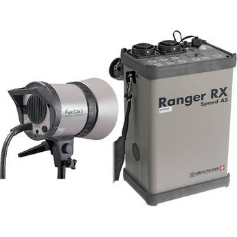 """Elinchrom Ranger RX-AS Kit with """"S"""" Head"""