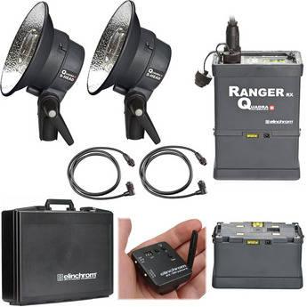 Elinchrom Ranger Quadra Head S Pro Set