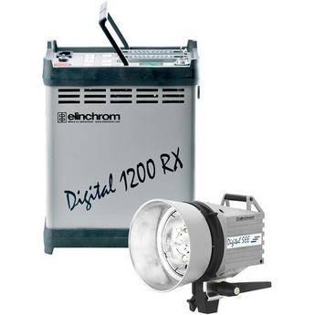Elinchrom Digital RX 1200 Pack with SEE Head