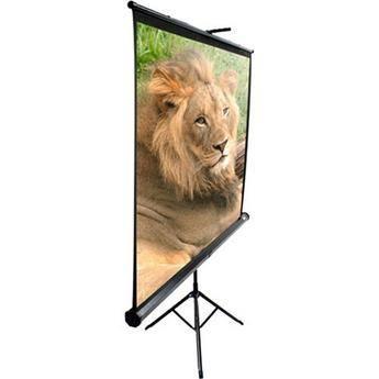 "Elite Screens T136UWS1 Portable Tripod Screen (96x96"")"