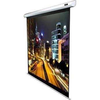 "Elite Screens VMAX136XWS2 VMAX2 Motorized Front Projection Screen (96 x 96"", 110VAC, 60Hz )"