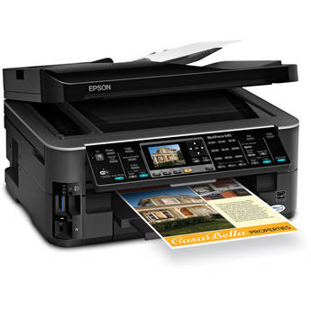 Epson WorkForce 645 All-in-One Color Inkjet Printer