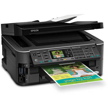 Epson WorkForce 545 All-in-One Color Inkjet Printer