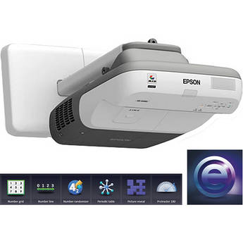 Epson BrightLink 455Wi Interactive Projector with RM Easiteach Software