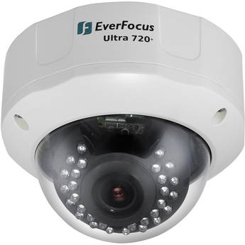 EverFocus EHD730 Ultra 720+ TVL, Outdoor True Day/Night Camera with DWDR