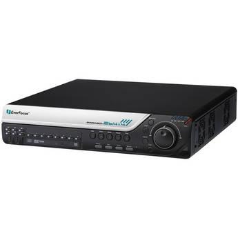 EverFocus Network DVD Burner (16-Channel, 480 fps, 8 TB)