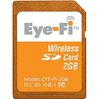 Eye-Fi 2GB Share Wi-Fi SD Memory Card